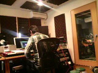 レコーディング中